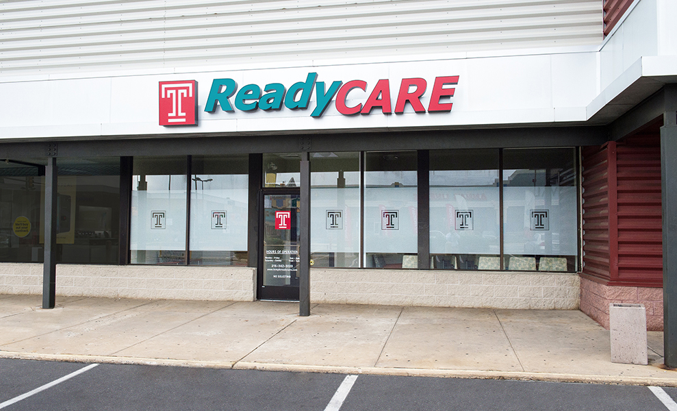 The exterior of ReadyCare Cottman Avenue