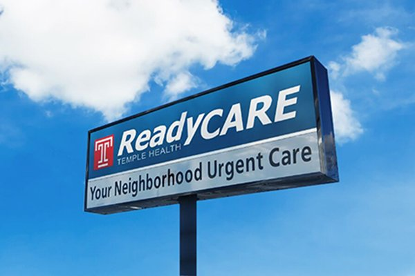 Temple ReadyCare sign